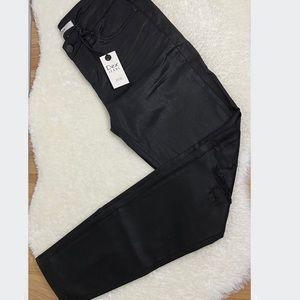 NWT Dex Black Distressed Skinny Jeans Size 27